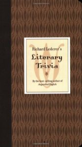 Baixar Richard lederers literary trivia pdf, epub, ebook