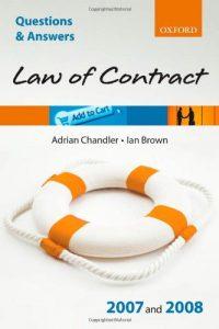 Baixar Law of contract 2007 – 2008 pdf, epub, eBook