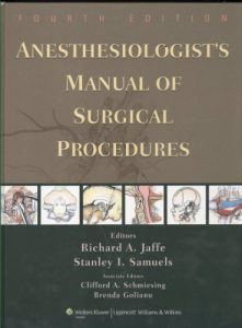 Baixar Anesthesiologist's manual of surgical procedures pdf, epub, ebook