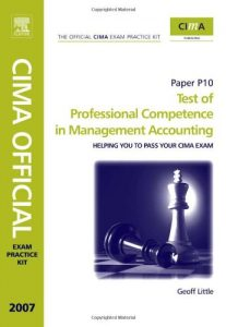 Baixar Cima exam practice kit- test of professional compe pdf, epub, ebook