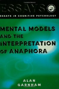 Baixar Mental models and the interpretation of anaphora pdf, epub, eBook