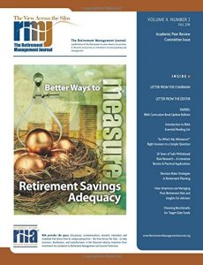 Baixar Retirement management journal, the pdf, epub, ebook