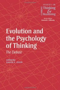 Baixar Evolutionary and the psychology of thinking pdf, epub, eBook
