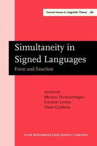 Baixar Simultaneity in signed languages pdf, epub, eBook