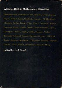 Baixar Source book in mathematics, 1200-1800, a pdf, epub, eBook