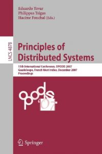 Baixar Principles of distributed systems pdf, epub, ebook