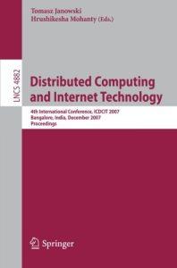 Baixar Distributed computing and internet technology pdf, epub, ebook