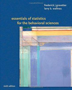 Baixar Essentials of statistics for behavioral science pdf, epub, ebook