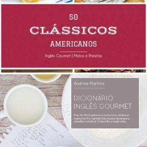 Baixar 50 Clássicos Americanos + Dicionário Inglês Gourmet pdf, epub, eBook