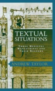 Baixar Textual situations: three medieval manuscripts pdf, epub, ebook