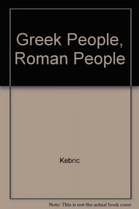 Baixar Greek people, roman people pdf, epub, eBook