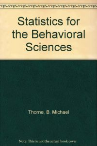 Baixar Statistics for the behavioral sciences pdf, epub, ebook