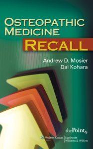 Baixar Osteopathic medicine recall pdf, epub, eBook