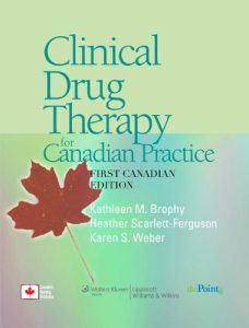 Baixar Clinical drug therapy for canadian practice pdf, epub, ebook