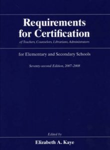 Baixar Requirements for certification of teachers, counse pdf, epub, ebook