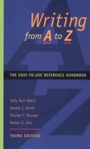 Baixar Writing from a to z pdf, epub, ebook