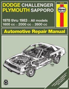 Baixar Dodge challenger plymouth sapporo pdf, epub, ebook
