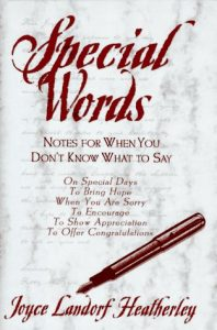 Baixar Special words – notes for when you don't know what pdf, epub, ebook