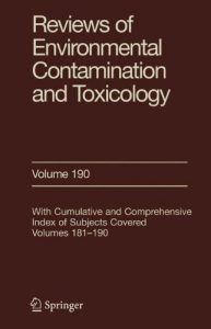 Baixar Reviews of environmental contamination and toxicol pdf, epub, ebook