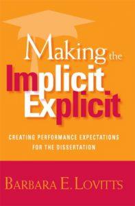 Baixar Making the implicit explicit pdf, epub, eBook
