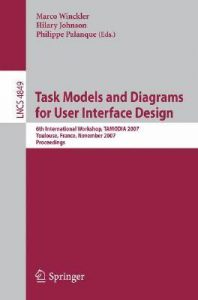 Baixar Task models and diagrams for user interface design pdf, epub, ebook