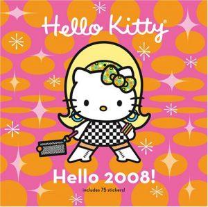 Baixar Hello kitty hello 2008! wall calendar pdf, epub, eBook