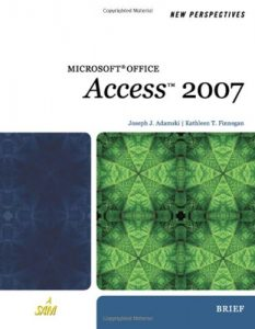 Baixar New perspectives on microsoft office access 2007 pdf, epub, eBook