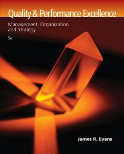 Baixar Quality and performance excellence pdf, epub, ebook