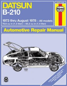 Baixar Datsun owners workshop manual, b-210 pdf, epub, ebook