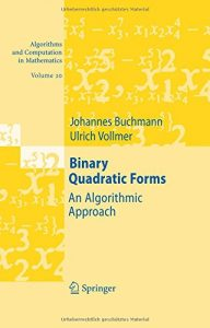 Baixar Binary quadratics forms pdf, epub, ebook