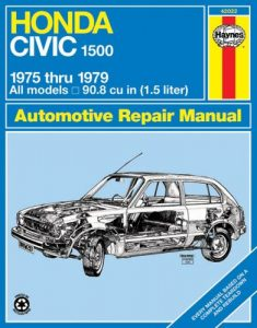 Baixar Honda civic 1500 and cvcc automotive repair manual pdf, epub, ebook