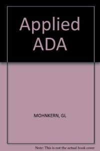 Baixar Applied ada pdf, epub, eBook