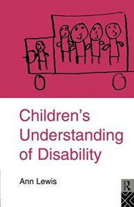 Baixar Children's understanding of disability pdf, epub, eBook