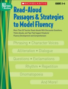 Baixar Read-aloud passages & strategies to model fluency- pdf, epub, eBook