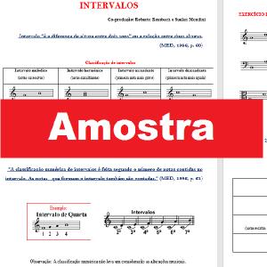 Baixar Teoria Musical – INTERVALOS com exercícios – Suelen Mondini pdf, epub, ebook