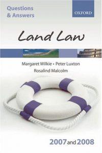 Baixar Q and a, land law 2007-2008 pdf, epub, eBook