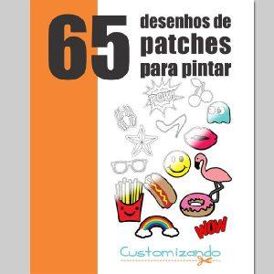 Baixar Apostila Digital 65 Desenhos de Patches para Pintar pdf, epub, ebook