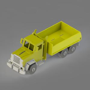 Baixar Projeto para corte de Caminhão 3mm – CNC / Fresa / Puzzle  / Brinquedos pdf, epub, ebook