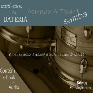 Baixar MiniCurso de Bateria – Aprenda a Tocar Samba pdf, epub, ebook