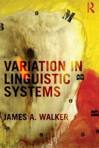 Baixar Variation in linguistic systems pdf, epub, ebook