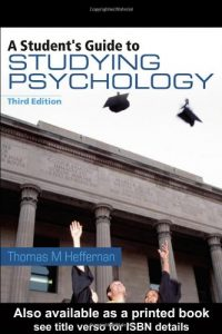 Baixar Student's guide to studying psychology, a pdf, epub, ebook
