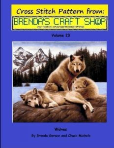 Baixar Wolves cross stitch pattern from brendas craft pdf, epub, eBook