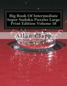 Baixar Big book of intermediate super sudoku puzzles pdf, epub, ebook