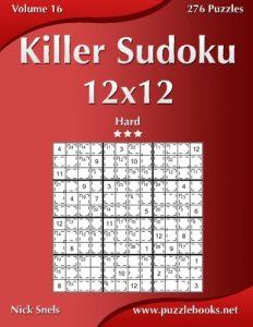 Baixar Killer sudoku 12×12 – hard pdf, epub, ebook