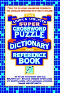 Baixar Simon & schuster super crossword puzzle dictionary pdf, epub, eBook