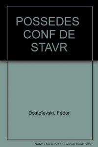 Baixar Possedesla confession de stavroguine, les pdf, epub, eBook