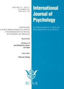 Baixar International journal of psychology pdf, epub, ebook