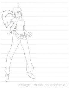 Baixar Manga ruled notebook 1 pdf, epub, ebook