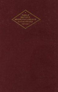 Baixar Corpus of british medieval libraries pdf, epub, ebook
