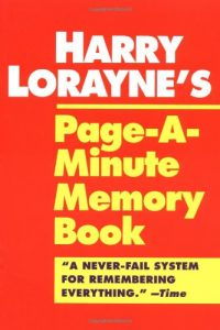 Baixar Harry lorayne's page-a-minute memory book pdf, epub, ebook